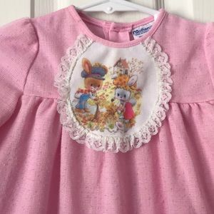 Bunny Vintage Little girls top